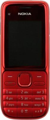 Мобильный телефон Nokia C2-01 Red - общий вид