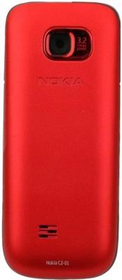 Мобильный телефон Nokia C2-01 Red - задняя панель