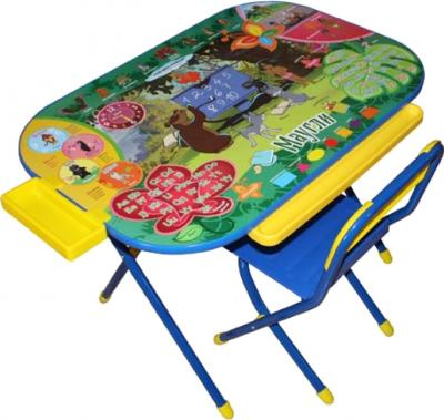 Стол+стул Дэми У3-04 Всезнайка: Маугли (синий) - общий вид