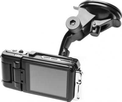Автомобильный видеорегистратор Starway VU100 - общий вид с креплением