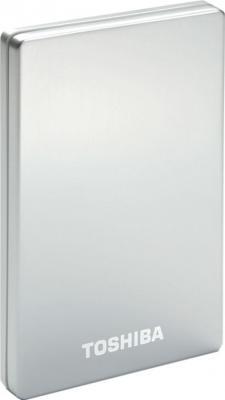 Внешний жесткий диск Toshiba STOR.E ALU 2S 2.5 500G USB 3.0 silver (PA4236E-1HE0) - общий вид