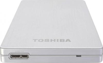 Внешний жесткий диск Toshiba STOR.E ALU 2S 2.5 500G USB 3.0 silver (PA4236E-1HE0) - интерфейсы