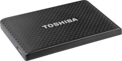 Внешний жесткий диск Toshiba Stor.E Partner 500GB Black (PA4272E-1HE0) - вид сбоку