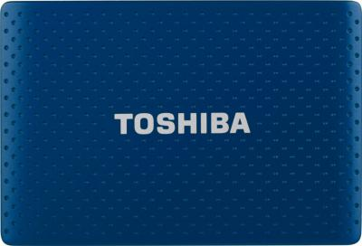 Внешний жесткий диск Toshiba Stor.E Partner 750GB Blue (PA4278E-1HG5) - общий вид