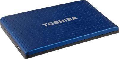 Внешний жесткий диск Toshiba Stor.E Partner 750GB Blue (PA4278E-1HG5) - лежит