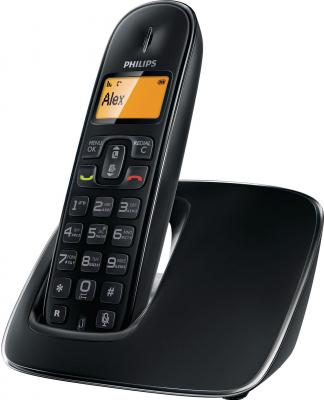 Беспроводной телефон Philips CD1911B  (Black) - вид сбоку