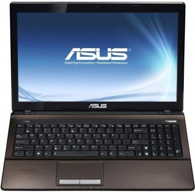 Ноутбук Asus X53U-SX345D - фронтальный вид