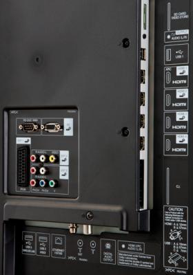 Телевизор Sharp LC-70LE740RU - входы/выходы