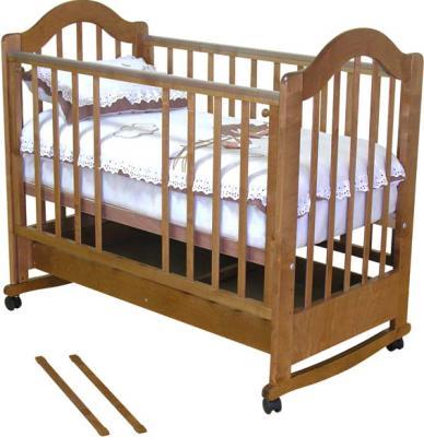 Детская кроватка Красная звезда Злата С354 (Орех) - общий вид