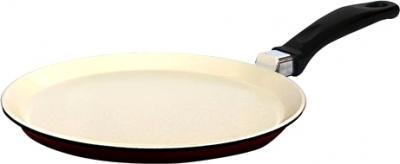 Блинная сковорода Виктория АЛА 220 (С224Пк) (White-Brown) - общий вид