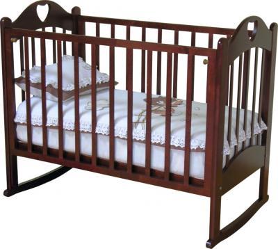 Детская кроватка Красная звезда Любаша С635 (Вишня) - общий вид