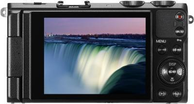 Компактный фотоаппарат Samsung EX2F (EC-EX2FZZBPBRU) (Black) - вид сзади