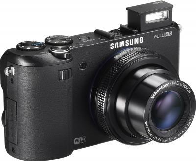 Компактный фотоаппарат Samsung EX2F (EC-EX2FZZBPBRU) (Black) - общий вид