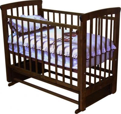 Детская кроватка Красная звезда Марина С700 (Шоколад) - общий вид