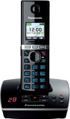 Беспроводной телефон Panasonic KX-TG8061  (черный) - общий вид