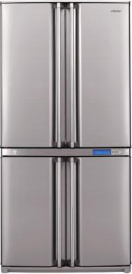 Холодильник с морозильником Sharp SJ-F96SPSL - вид спереди