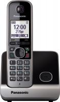 Беспроводной телефон Panasonic KX-TG6711 (черный) -