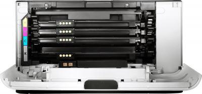 Принтер Samsung CLP-365W - вид изнутри