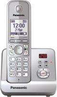 Беспроводной телефон Panasonic KX-TG6721 (серебристый) -