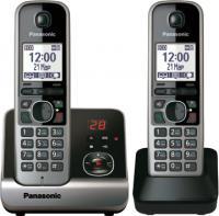 Беспроводной телефон Panasonic KX-TG6722  (черный) -