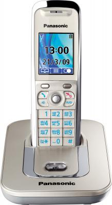 Беспроводной телефон Panasonic KX-TG8411 Platinum (KX-TG8411RUN) - общий вид