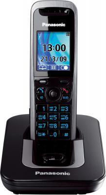 Беспроводной телефон Panasonic KX-TG8411 Titanium (KX-TG8411RUT) - общий вид