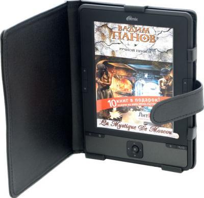 Электронная книга Ritmix RBK-610 (microSD 8Gb) - в чехле