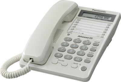 Проводной телефон Panasonic KX-TS2362  (белый) - общий вид