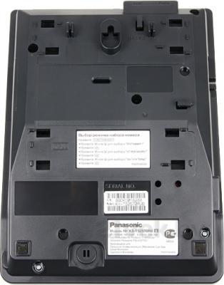 Проводной телефон Panasonic KX-TS2570 (черный) - вид снизу