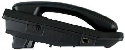 Проводной телефон Panasonic KX-TS2570 (черный) - вид сбоку