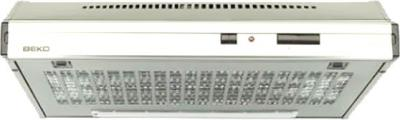 Вытяжка плоская Beko CFB 6432 X - общий вид