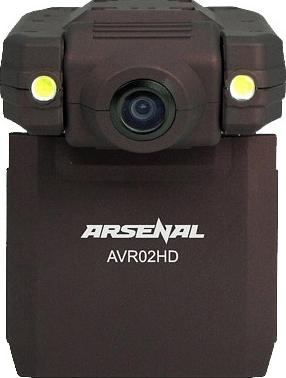 Автомобильный видеорегистратор Arsenal AVR02HD - общий вид