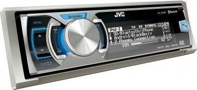 Бездисковая автомагнитола JVC KD-X70BTE - вид сбоку