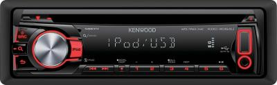 Автомагнитола Kenwood KDC-4054UR - вид спереди