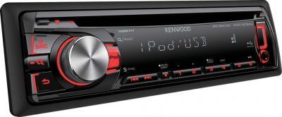 Автомагнитола Kenwood KDC-4054UR - вид сбоку