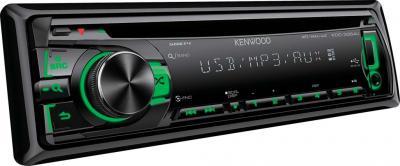 Автомагнитола Kenwood KDC-3354UGY - вид сбоку