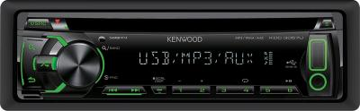 Автомагнитола Kenwood KDC-3057UG - вид спереди