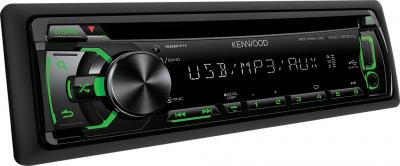 Автомагнитола Kenwood KDC-3057UG - вид сбоку