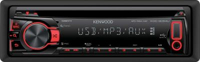 Автомагнитола Kenwood KDC-3054URY - вид спереди