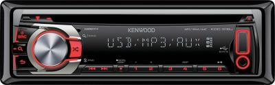 Автомагнитола Kenwood KDC-316UR - вид спереди