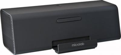 Портативная колонка Microlab MD 220 (черный) - общий вид
