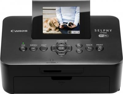 Принтер Canon SELPHY CP900 - фронтальный вид