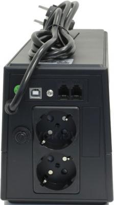 ИБП FSP EP650 (PPF3600117) - вид сзади