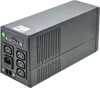 ИБП FSP EP-850 (PPF4800102) - вид сзади