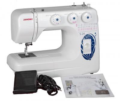 Швейная машина Janome S-24 - комплектация