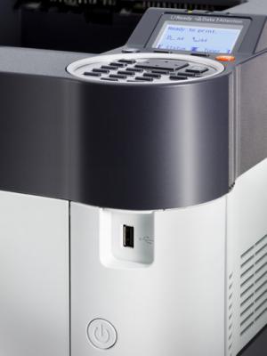 Принтер Kyocera Mita FS-4200DN - дисплей