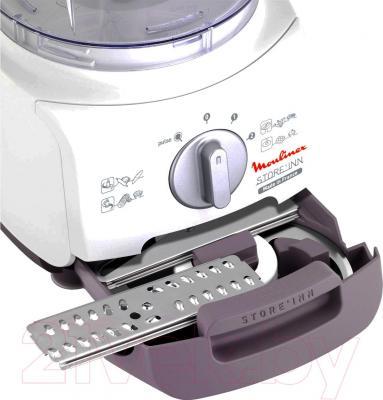 Кухонный комбайн Moulinex FP321F32 - хранение насадок