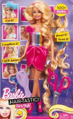 """Кукла Mattel Барби """"Модная прическа"""" Блондинка (W3909/W3910) - в упаковке"""