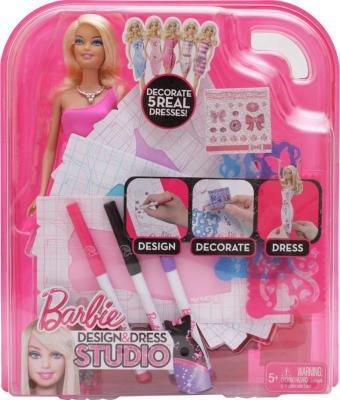 Кукла Mattel Барби Модная дизайн-студия (W3923) - в упаковке
