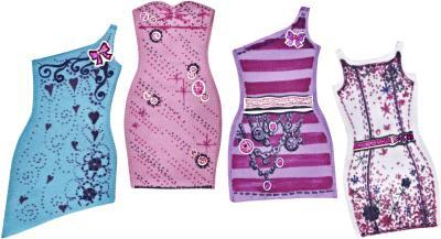Кукла Mattel Барби Модная дизайн-студия (W3923) - заготовки платьев